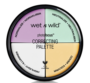 wet n wild PhotoFocus Correcting Palette -  Color Commentary