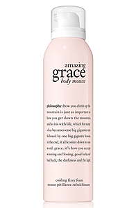 philosophy body mousse - amazing grace
