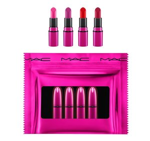 MAC Shiny Pretty Things / Mini Lipsticks: Brights