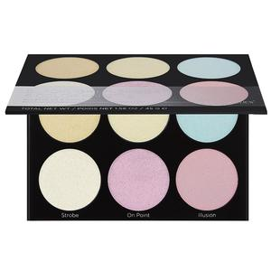 BH Cosmetics 6 Color Palette - Blacklight Highlight