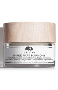 Origins Three Part Harmony Day & Night Eye Cream Duo For Renewal Replenishment & Radiance