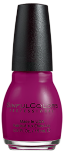 SinfulColors Nail Color - Poisonberry 1700