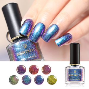 Born Pretty Nail Lacquer Glitter Galaxy Chameleon Series - BP-GC01 Charming Night