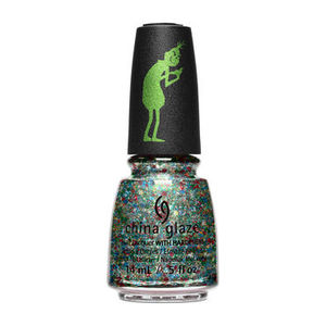 China Glaze Nail Lacquer - Resting Grinch Face