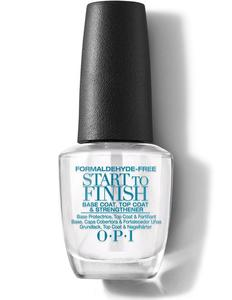 OPI Start to Finish Base Coat, Top Coat and Strengthener
