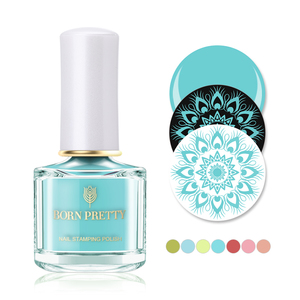 Born Pretty Stamping Nail Polish Macaron Series - BP-WT01 Melody of Music Box