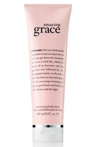 philosophy shimmering body lotion - amazing grace