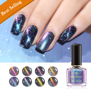 Born Pretty Nail Lacquer Holographic Magnetic Cat Eye - BP-HMS01 Fascinating