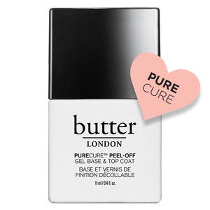 butter LONDON PURECURE Peel-Off Gel Base & Top Coat