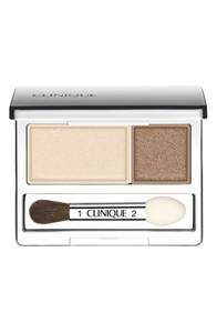 Clinique All About Shadow Duo - Ivory Bisque/Bronze Satin