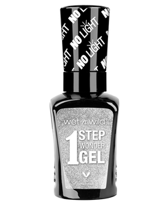 wet n wild 1 Step WonderGel Nail Color - The Silver Screen