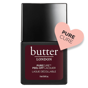 butter LONDON PURECURE Peel-Off Lacquer