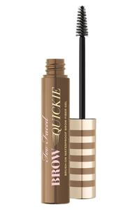 Too Faced Brow Quickie Brush-On Waterproof Brow Fiber Gel - Universal Taupe