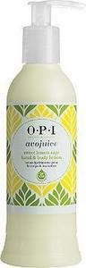OPI Avojuice Hand & Body Lotion - Sweet Lemon Sage