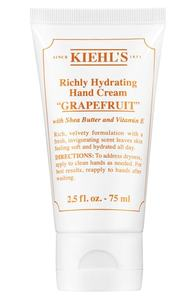 Kiehl's Grapefruit Richly Hydrating Scented Hand Cream
