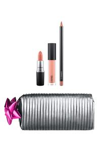MAC Shiny Pretty Things / Goody Bag: Nude Lips