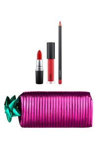 MAC Shiny Pretty Things / Goody Bag: Red Lips